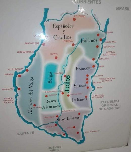 L'Entre Rios, terre d'émigration